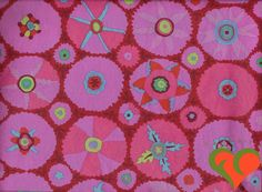Kaffe Fassett Suzani Embroidered Magenta Fabric GP105 Fat Quarter. Retired. HTF. Rare. Out of Print. by FayCarrieQAOT on Etsy