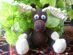 crochet christmas reindeer