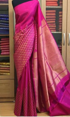 Do you want to find out about quality Latest Elegant Indian Sari including items such as Elegant Saree also Latest Elegant Sari Blouse if so then CLICK VISIT link above for more info Saree Draping Styles, Saree Styles, Silk Saree Kanchipuram, Silk Sarees, Kanjivaram Sarees, Kalamkari Saree, Indian Attire, Indian Ethnic Wear, Indian Dresses