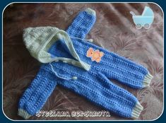 Комбинезон для малыша 0-6 месяцев крючком. Часть 1. Jumpsuit for baby 0-6 months crocheted.