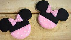 Minnie Mouse galletas de azúcar  1 docena