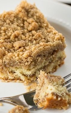 Crumb Coffee Cake.  I've been looking for an Entemanns type coffee cake recipe.  Looking forward to trying this one :)