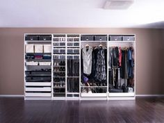 Functional IKEA Pax Closet System