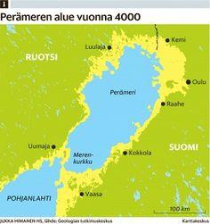 Maan kohoamista Perämerellä kävi viime vuonna ihmettelemässä matkailijoita ainakin 46 maasta - Itämeri - Kotimaa - Helsingin Sanomat Geography, Diagram, Chart, Map, Geology, Location Map, Maps
