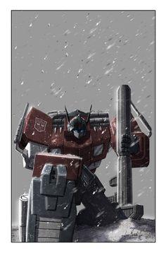 Monstrosity 5 Cover by ~Livio27 on deviantART (Optimus)