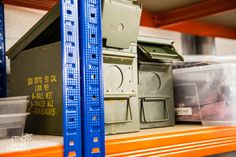 We love #recycling! #Military #boxes like green boxes! These sealable boxes are used to store ours tools! www.tfixrepairs.com