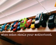 when satan steals your motherhood. - Letters From The Nest