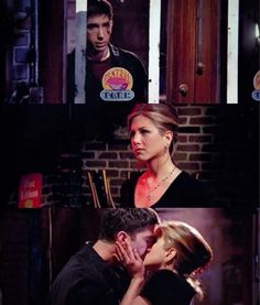 #Friends Ross and Rachel.