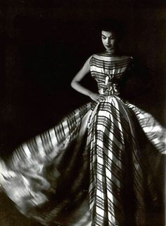 Madame Gres, 1953 | via the Roma dress ~ J&I (myrealdress.com)