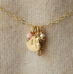 OWL ALWAYS LOVE YOU NECKLACE by Make Pie Not War