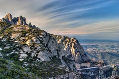 Montserrat - Montserrat is a mountain located just outside of Barcelona that offers tremendous views and is home to the monastery Santa Maria de Montserrat. The Santa Maria de Montserrat hosts the Virgin of Montserrat, a statue of the Virgin Mary and an infant Christ.