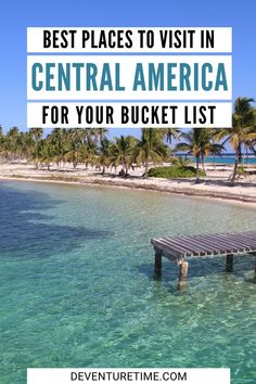 Central America is filled with amazing places to visit. Between the beaches, mountains, and rainforests, there's plenty of great destinations. Ometepe, Rainforests, San Salvador, Top Destinations, Beach Town, Panama City Panama, Stunning View, Central America, Amazing Places