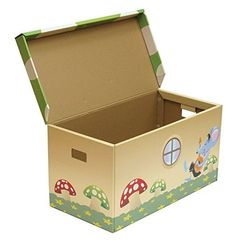 Image result for cardboard toy box