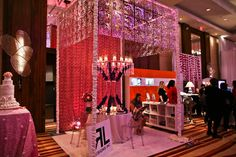 Event decor booth at Wedluxe
