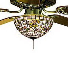 stained glass ceiling fan. Meyda Tiffany 3-Light Ceiling Fan Light Kit With Amber Mauve Stained Glass D