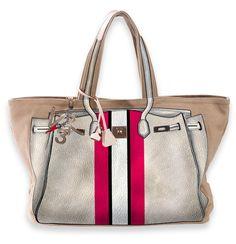 V73 Bandes Light Gray https://www.v73.it/it/bags-ita-new-happy-day/bandes/product/630-light-gray #v73 #bag #light #gray