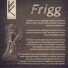 It's Friday, happy Frigg's Day! #frigg #frigga #friday #asatru #heathen #heathens #pagan #odin #thor #vikings #viking #norse #freitag #fornsed #mythology #religion #gods #god