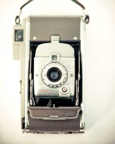 Vintage Camera photography mid century wall art home decor by Carl  Christensen