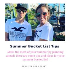 Summer Bucket List - Jennifer Ford Berry