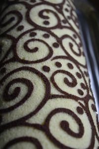 NooN beaded jewellery: painted roll Sponge Cake Roll, Yule Log, French Pastries, Food Gifts, Plated Desserts, Food Network Recipes, Eat Cake, Cake Decorating, Food And Drink