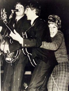 Paul McCartney and George Harrison and....