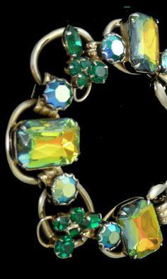 Vintage Juliana Schiaparelli - style bracelet