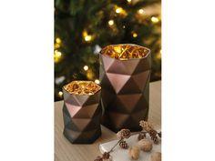 Fink Living Teelichthalter Zao braun-gold kaufen im borono Online Shop