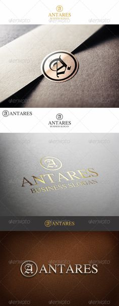 Fashion Monogram Letter A Antares - Logo Design Template Vector #logotype Download it here: http://graphicriver.net/item/fashion-monogram-letter-a-antares/7195282?s_rank=989?ref=nesto