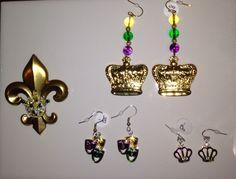Mardi gras jewelry.