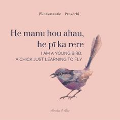 """""""I am a young bird, a chick just learning to fly"""" {FREE download}"""