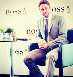 Hugo Boss Man of Today event