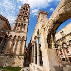 Diokleciánov palác a stredoveký Split