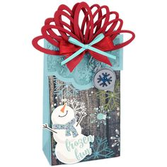 Sizzix Bigz xL Die By Lindsey Serata - Wrapped w/Ornaments