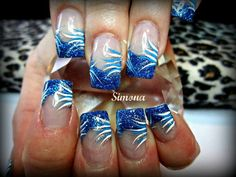 Love this and its so easy all you need are good nail art pens and a steady hand