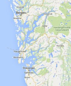 The Discovery Route: Stavanger - Bergen via Ryfylke and Hardanger — Fjord Tours