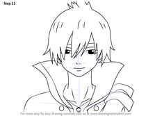 Learn How to Draw Zeref Dragneel from Fairy Tail (Fairy Tail) Step by Step : Drawing Tutorials Natsu Drawing, Fairy Tail Drawing, Fairy Tail Anime, Manga Drawing, Zeref Dragneel, Fairytail, Animated Cartoon Movies, Learn To Draw, Learn Drawing