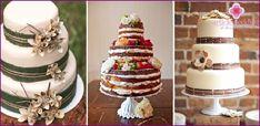 Svatební dort v rustikálním stylu - nápady s fotografiemi