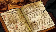 The Mystery of Gravity Falls! Gravity Falls Secrets, Libro Gravity Falls, Gravity Falls Book, Gravity Falls Journal, Journal 3, Journal Pages, Boruto, Desenhos Gravity Falls, Grabity Falls