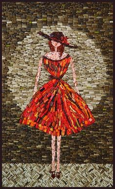 Mosaic Tiles.  A beautiful way of recognizing Women and Heart Disease.  Thank you.