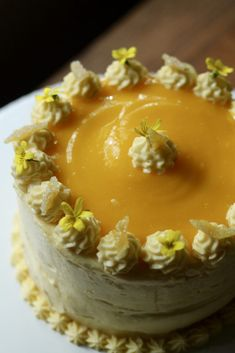 In Search of the Perfect Lemon Layer Cake