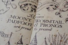The Marauders <3 : Moony <3 Wormtail <3 Padfoot <3 Prongs <3