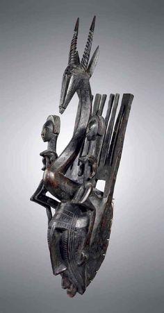 Masque Bamana, ntomo Bamana mask, ntomo | RÉGION DE SÉGOU, MALI | Sculptures, Statues & Figures, ceremonial & ritual items | Christie's