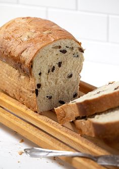 Delicious, classic yeast raisin bread. Makes great toast and try it for sandwiches!
