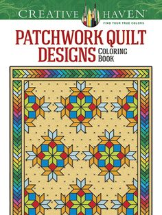 <P>Blankets of splendid geometric configurations, drawn from time-honored patchwork motifs, fill this festival of traditional folk art. Thirty-one bold designs are printed on only one side of perforated pages. Previously published as <I>Traditional Patchwork Quilt Designs</I>.