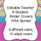 ***Updated 6/7/14***  This download now includes chevron spines in sizes 1in, 1.5in, 2in, and 3in!  Included in this download are 30 unique (and ED...
