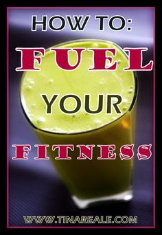 Tips for fueling your workout - before, during, and after!