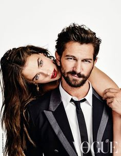 Crista Cober, Canadian model and Michiel Huisman for VOGUE Netherlands May 2015