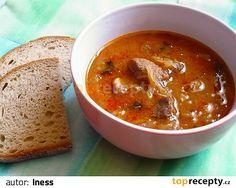 segedínský guláš s houbami(vepř.plece,ster.zelí,suš.houby,koření)
