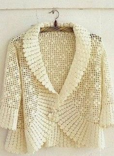 Crochet jacket — Crochet by Yana