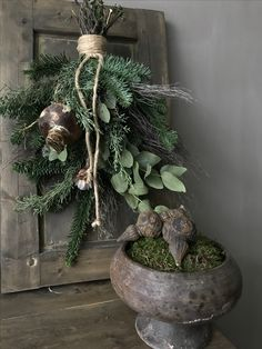🌟Tante S!fr@ loves this 📌🌟Kerst 2017 - Anke Winter - 🌟Tante S!fr@ loves this 📌🌟Kerst 2017 - Anke Winter - Christmas Advent Wreath, Rustic Christmas, Winter Christmas, Christmas Time, Christmas Crafts, Christmas Decorations, Xmas, Holiday Decor, Decoration Inspiration